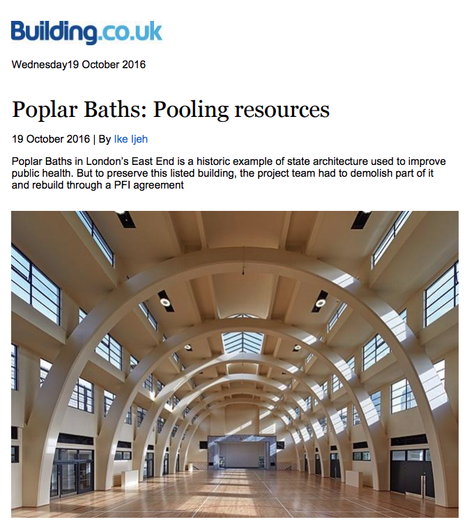 Poplar Baths